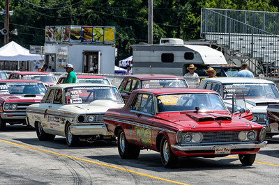 Staging Lanes at Beech Bend Raceway