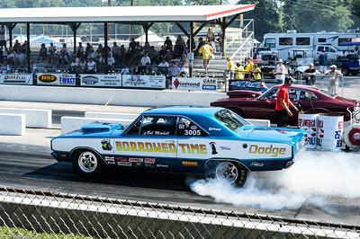 Borrowed Time Dodge at NHRA Hot Rod Reunion