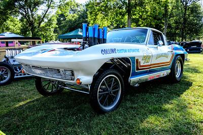 Corvette Gasser at NHRA Hot Rod Reunion