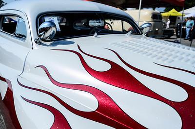 Mercury Custom at NHRA Hot Rod Reunion