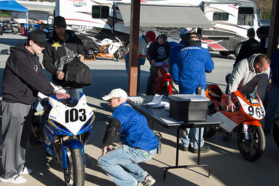 WERA tech inspection at Summit Point