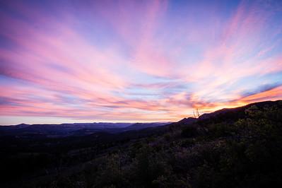 Zion Fiery Sky