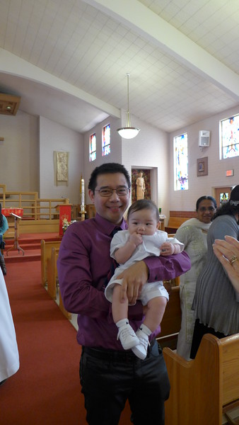 Rainer's Baptism, May 2015.