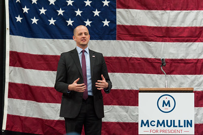 Rally with Evan McMullin in Salt Lake City