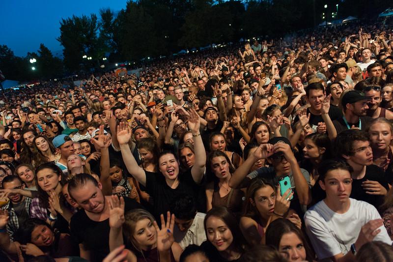 Australian electronica musician Chet Faker opens the 2016 Twilight Concert Series in Pioneer Park, Salt Lake City