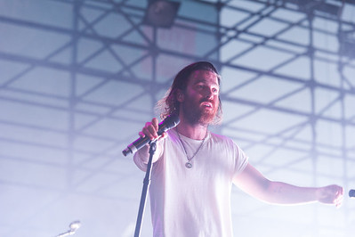 Australian electronica musician Chet Faker opens the 2016 Twilight Concert Series in Pioneer Park, Salt Lake City