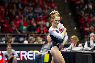 2017_Utah Gymnastics hosting Boise State, Denver and Illinois-Chicago