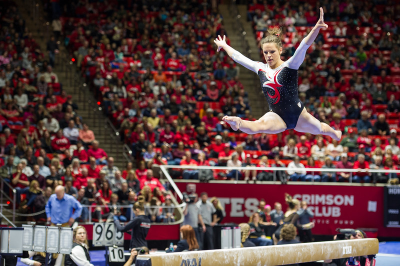 2017_Utah Gymnastics hosting Boise State, Denver and Illinois-Chicago