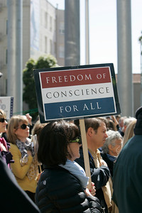 Rally For Religious Freedom March 2012