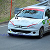 SION, SWITZERLAND - OCTOBER 30: Sylvain Fivaz for Team Fivaz in a Peugeot 206 in the International Rally of the Valais : October 30, 2011 in Sion Switzerland