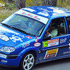 SION, SWITZERLAND - OCTOBER 30: Muller of the Atelier de la Tzoumaz in a Citroen Saxo in the International Rally of the Valais : October 30, 2011 in Sion Switzerland