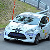 SION, SWITZERLAND - OCTOBER 30: Hecq for Racing Team Nyonnais in a Ford Fiesta in the International Rally of the Valais : October 30, 2011 in Sion Switzerland