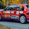 SION, SWITZERLAND - OCTOBER 30: Rey of the Atelier de la Tzoumaz in a Citroen Saxo in the International Rally of the Valais : October 30, 2011 in Sion Switzerland