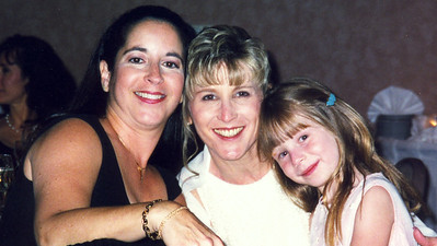 Karen Seaman Weisberg, Robyn Filippo and our niece Hannah Meyers.