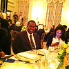Warithudeen Mohammed II at Ramadan Dinner at the White House with President Barack Obama