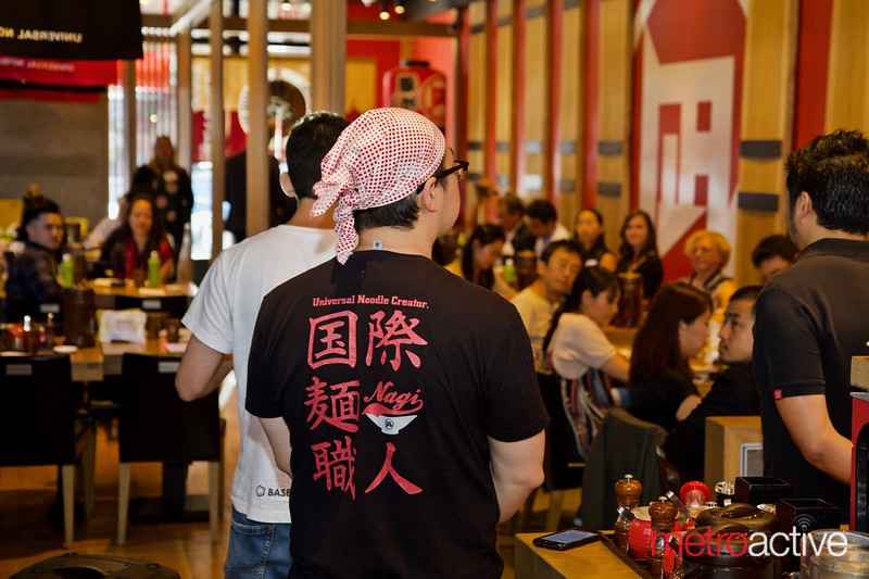 Ramen Nagi and Base Food's collaboration media event kick-off 8/28/2019