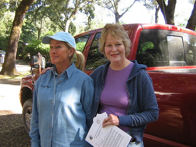 Joan McLaren and Robin Whalen