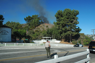 Rancho PV Fire Oct.7th. 08