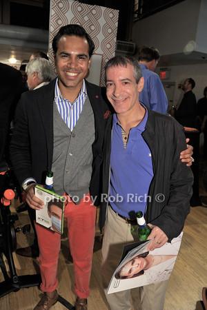 Rafi Sahanoor, Adam Sands<br /> photo by Rob Rich/SocietyAllure.com © 2014 robwayne1@aol.com 516-676-3939