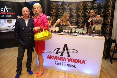 Advinta Vodka  Dimitry Zheleznyk, Christina Zucic photo by Rob Rich/SocietyAllure.com © 2013 robwayne1@aol.com 516-676-3939