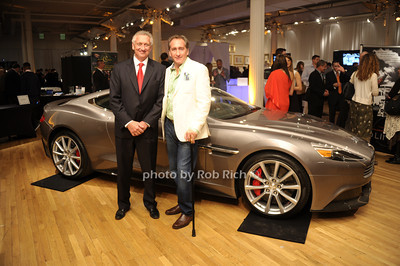 Simon Rodd (Aston Martin), Bradford Rand photo by Rob Rich/SocietyAllure.com © 2013 robwayne1@aol.com 516-676-3939