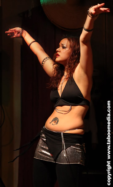 Lisa Fiera at Hot Pot Spring Show