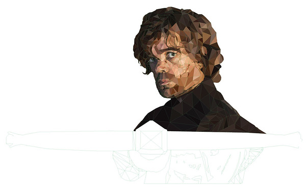 Tyrion Lannister - Coloring 2
