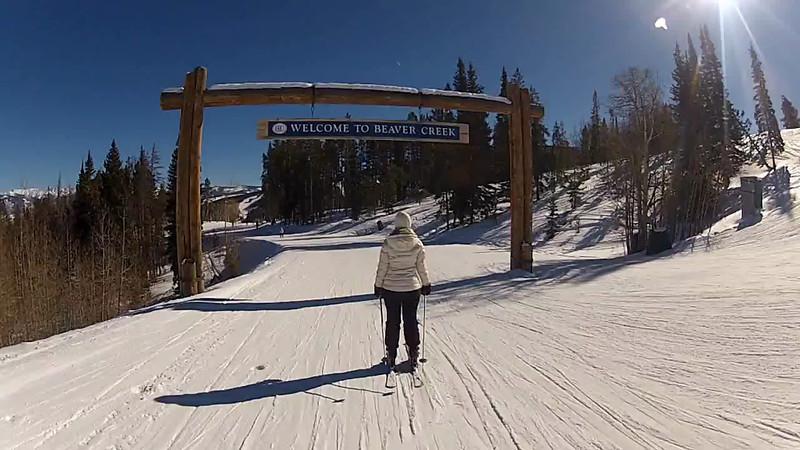 Skiing Beaver Creek!