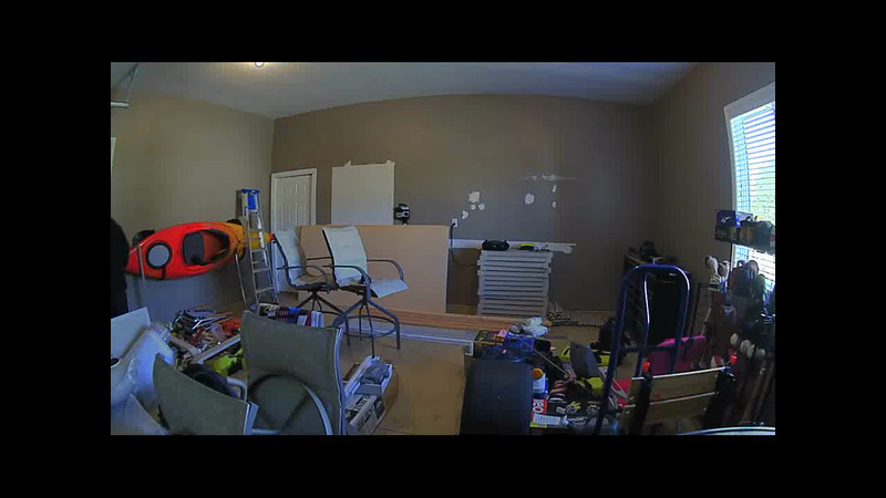 Time lapse video of a garage project.  Really just wanted to try out the new camera :)