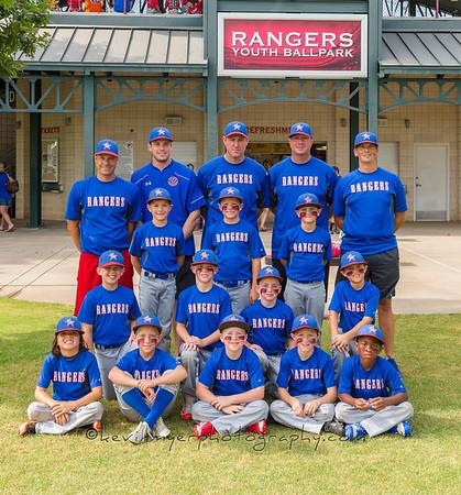 Rangers at Globe Life Park