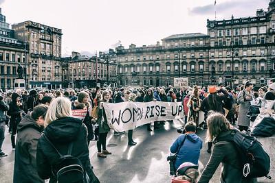 Rape Clause Rally Glasgow