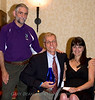 Sandford J. Siegel, President of the Transverse Myelitis Organization, Dr. Peter Sim, recipient of the 2008 TMA Distinguished Service Award, and Paula Lazzeri, TMA Treasurer