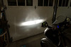 Motorcycle headlights (low beam only)