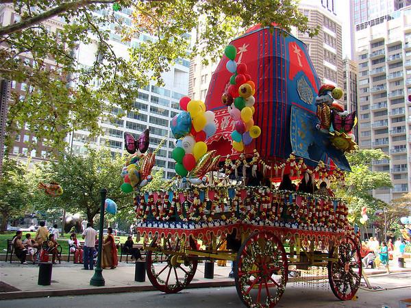 Ratha-Yatra Parade