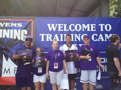 2013 Ravens Camp