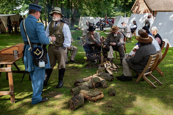 American Civil War Re-enactment