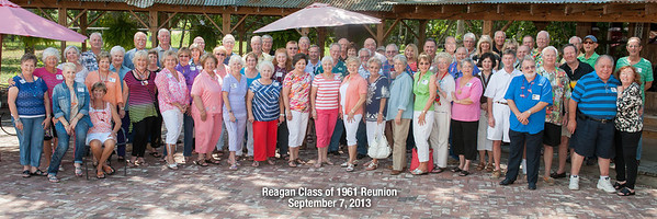 Reagan Class of 61 Reunion 2013