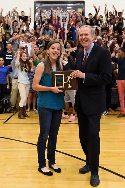 Reagan Extra Effort Award 2014-10-29