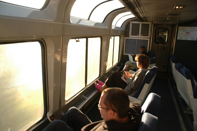 Empire Builder - Train ride to Whitefish