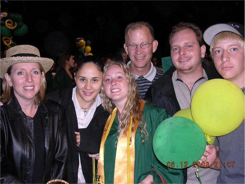 L to R Lori, Vashti, Rebekah, Ron Jeremiah, Ben.