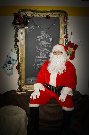 Recap Sports Santa Visit
