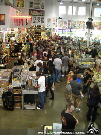 Record Store Day 2010 at Amoeba in Los Angeles