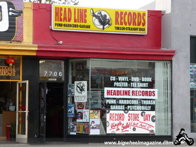 Record Store Day 2010 at Head Line Records in Los Angeles