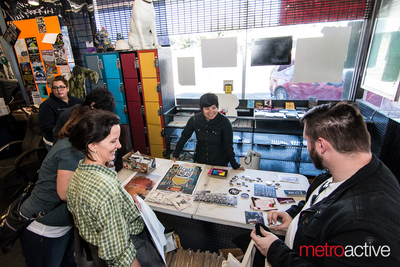 "At Streetlight Records<br /> Photo by Geoffrey Smith II | <a href=""http://www.geoffreysmithphotography.com"">http://www.geoffreysmithphotography.com</a>"