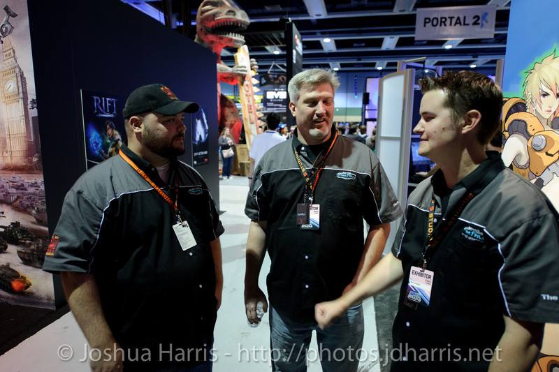 Matt DeWald, Dave Williams and James Macauley