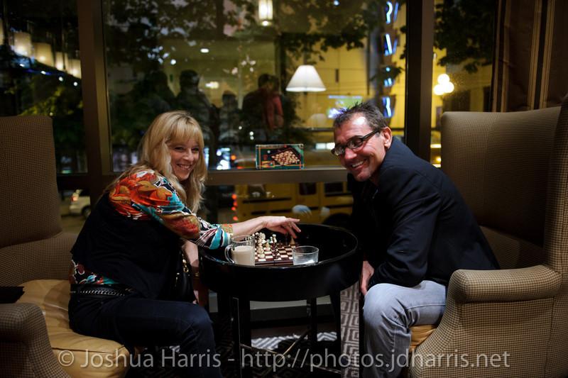 Jeff Lawniczak and his girlfriend