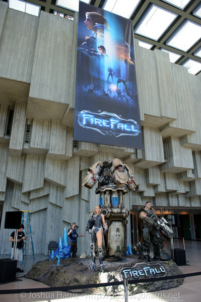Firefall Statue