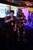 Brian Su with Master Chief.  Isn't he in the wrong booth…?  :-)