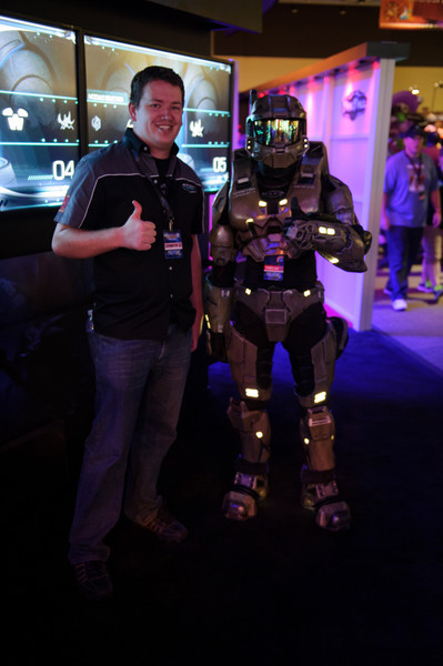 I guess Master Chief liked our game better.