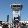 Race control tower.